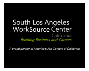South Los Angeles Worksource Center - California logo